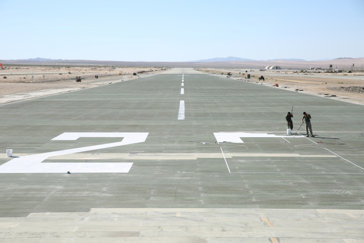 MWSS 374 Marines refurbish Camp Wilson airfield