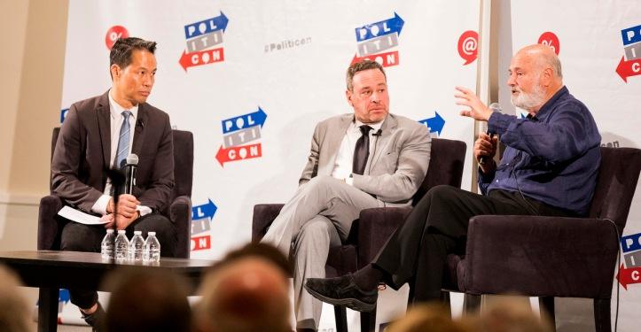 Richard Lui, David Frum and Rob Reiner