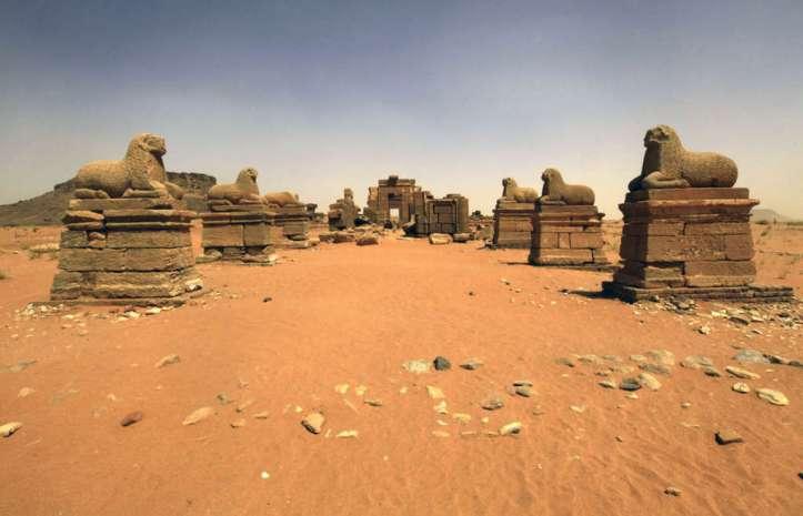 Sudan-pyramids