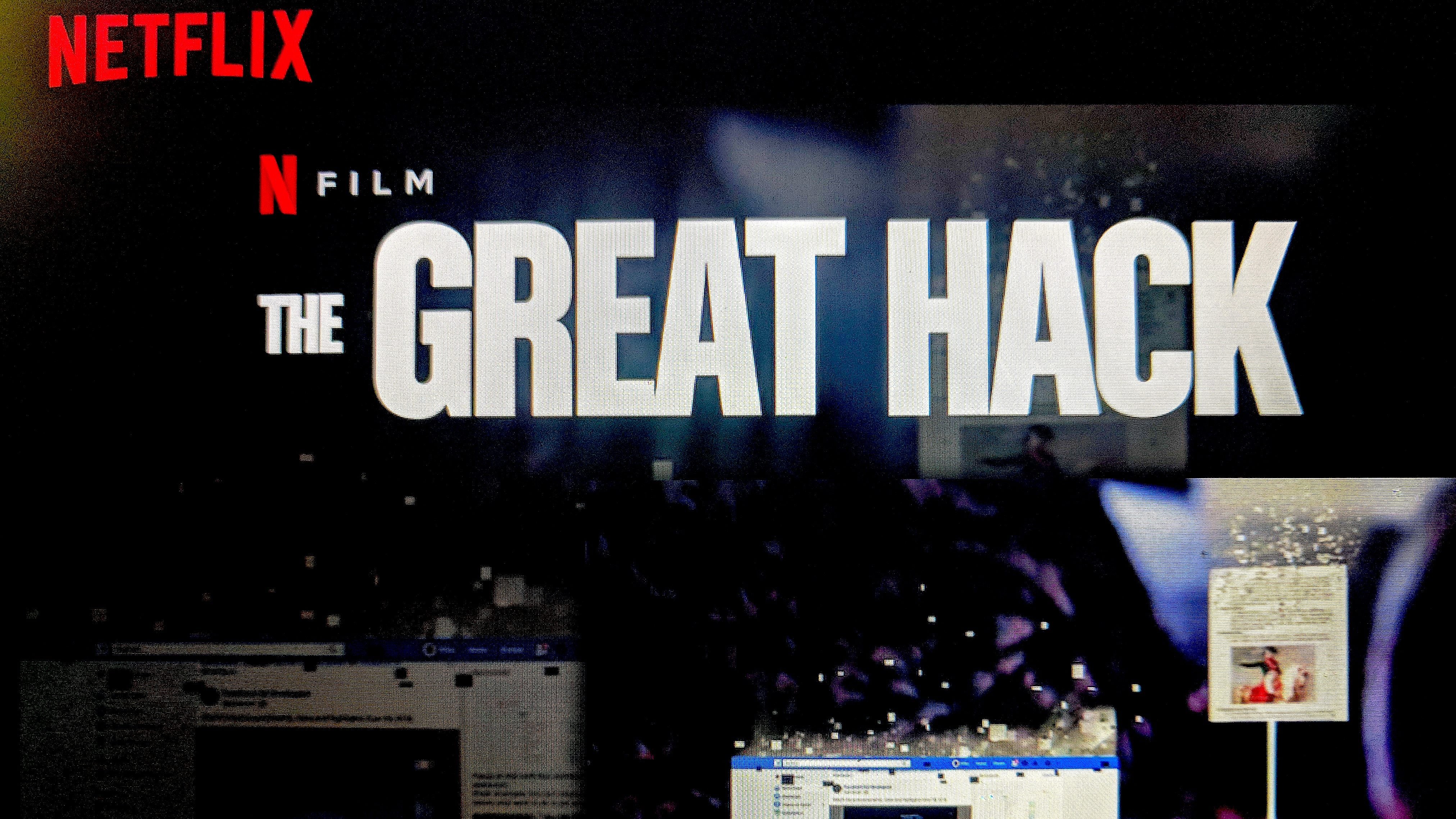 The Great Hack 2019 480p, 720p NF WEB-DL x264