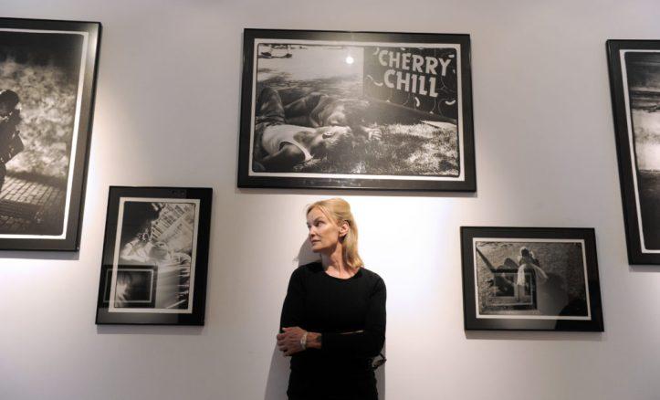 US actress Jessica Lange poses on July 9
